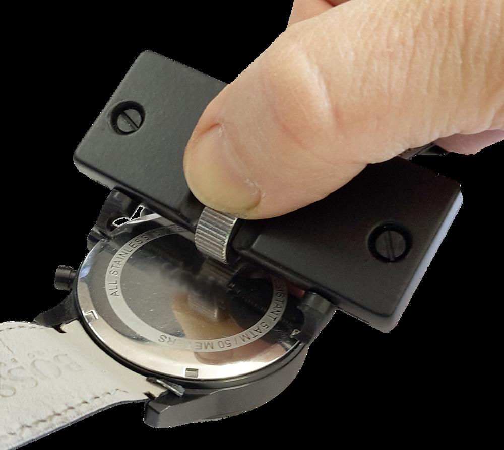 B Gehäuseöffner Uhrenwerkzeug Uhrenöffner für Uhren mit Schraubböden Gehäuse Uhr