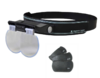 Headband magnifier MEGAVIEW with three lenses *Made in Japan
