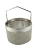 Basket round with short handle for Elmasonic Ultrasonic Cleaner