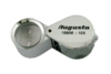 AUGUSTA watchmaker loupe Ø 18 mm 10-speed chrome / rubber