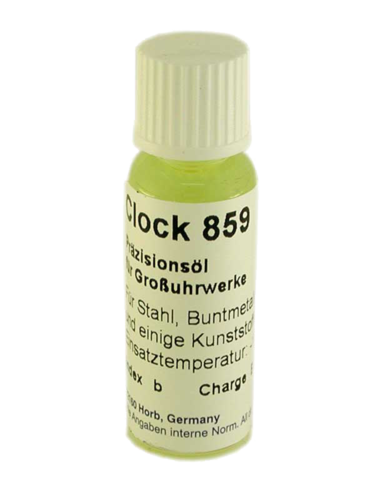Dr. Tillwich Clock 859 watch oil precision lubricant for watches