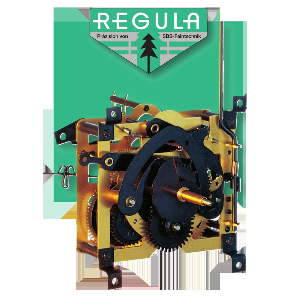 Regula 25 Black Forest Cuckoo Movement Pendulum Length 191mm Manual Guide