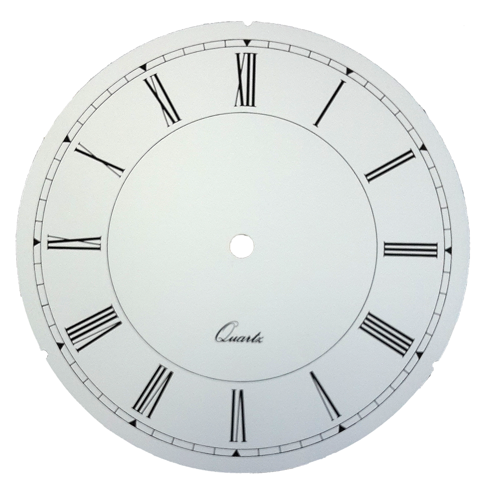 Zifferblatt Quartz Für Uhren Wanduhren Römische Zahlen ø 185 Mm