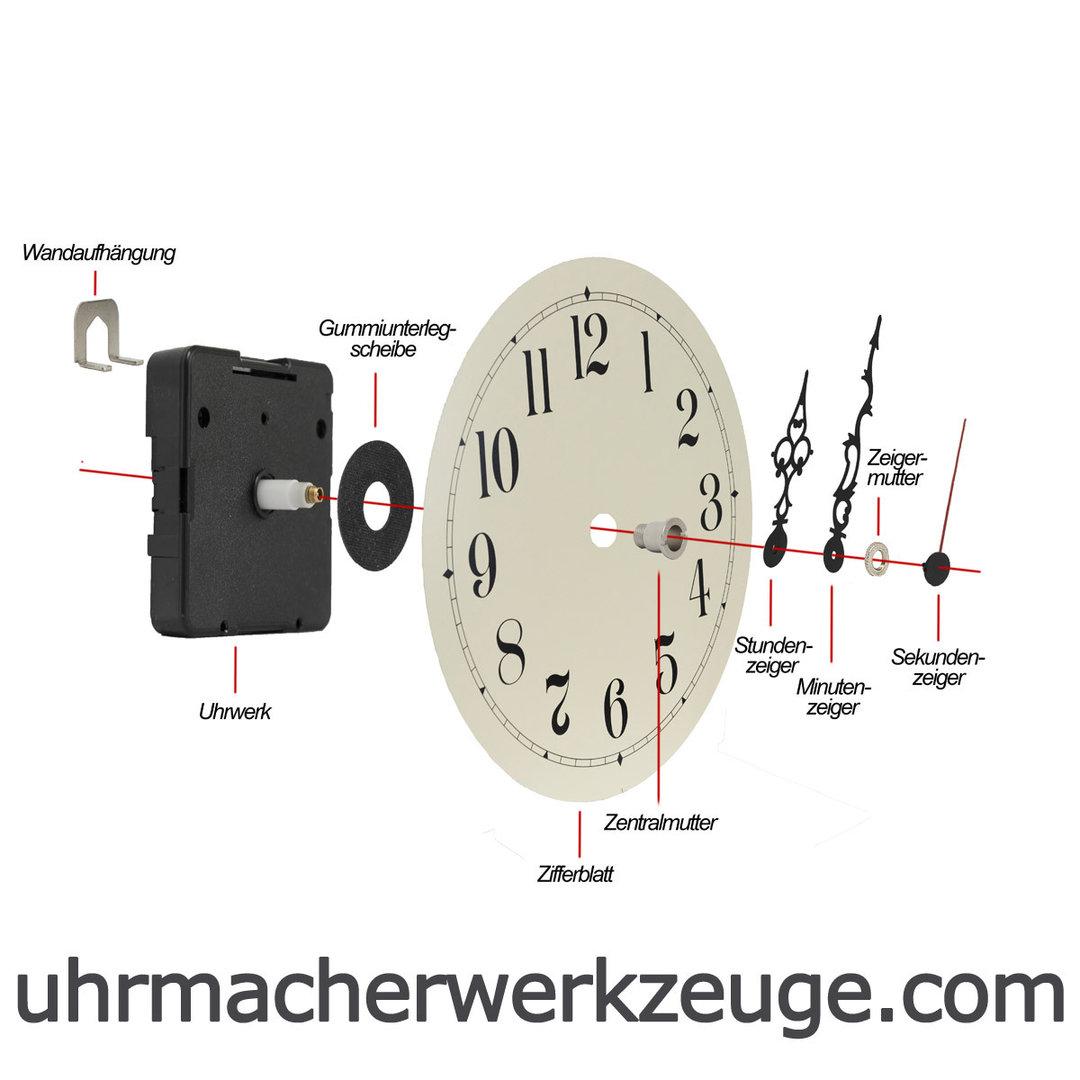 Details about  /JUNGHANS//UTS 838 Quartz Quartz Clockwork incl Closed Pointer Mother show original title