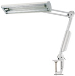 AUGUSTA daylight lamp 2x fluorescent tube with articulated arm